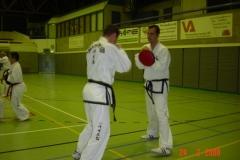 Wedstrijd training 22 april 2008